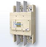 Автоматический выключатель ВА57-39 с адаптером для крепления в силовые щиты вместо устаревших  выключателей серии А3790
